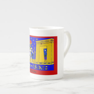 Egyptian China Mug