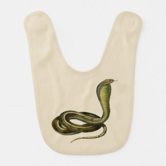 Egyptian Cobra Bib for Fledgling Snake Lovers