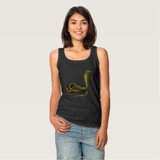 Egyptian Cobra Tank Top for the Snake Aficionado