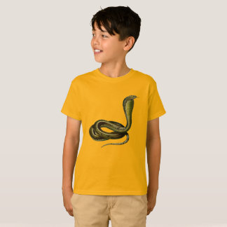 Egyptian Cobra Tee for Young Snake Lovers
