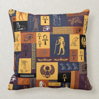 Egyptian Collage Cushion