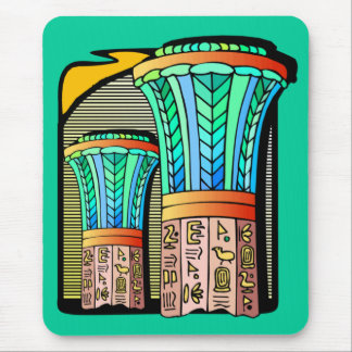 EGYPTIAN COLUMNS MOUSE PAD
