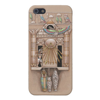 Egyptian Cuckoo Clock Cover iPhone 5/5S Cases