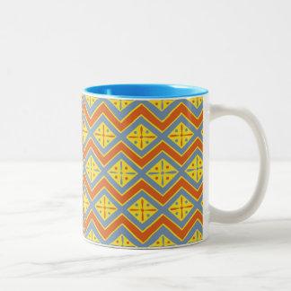 Egyptian Design #11 at Emporio Moffa Two-Tone Mug