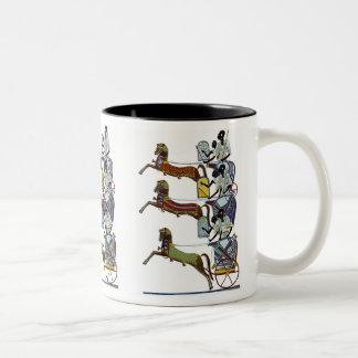Egyptian Design #2 at Emporio Moffa Two-Tone Mug