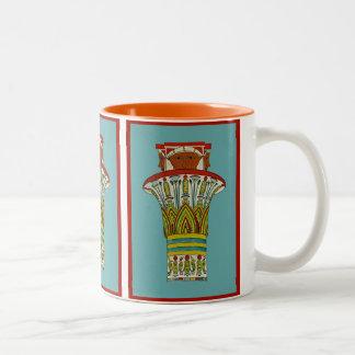 Egyptian Design #3 at Emporio Moffa Two-Tone Mug