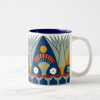 Egyptian Design #7 at Emporio Moffa Two-Tone Mug