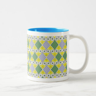 Egyptian Design #9 at Emporio Moffa Two-Tone Mug