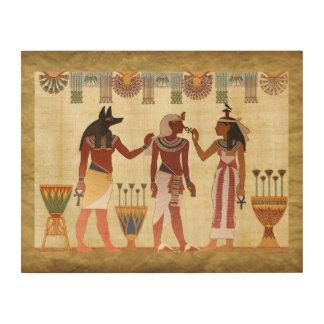 Egyptian Design Man Woman Wall Art