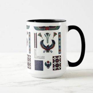 Egyptian Design Sampler mug