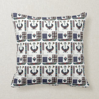 Egyptian Design Sampler Throw Pillow