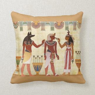 Egyptian Design Throw Pillow (B)