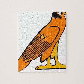Egyptian Eagle Jigsaw Puzzle