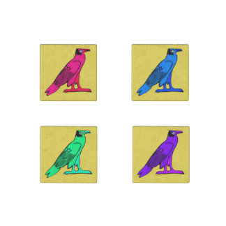 Egyptian Eagle Marble Stone Magnets
