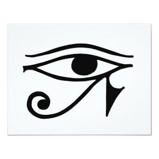 Egyptian Eye Card