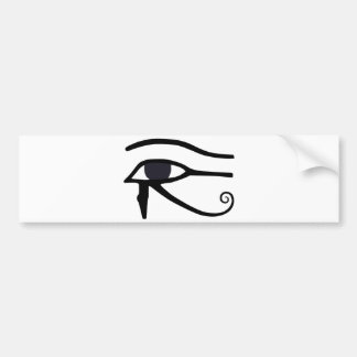 EGYPTIAN EYE OF HORUS BUMPER STICKER