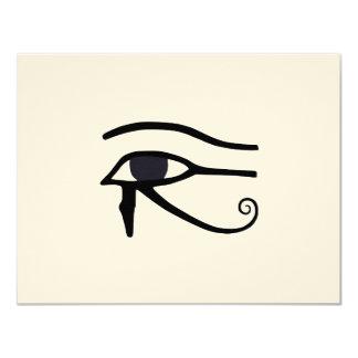 EGYPTIAN EYE OF HORUS CARD