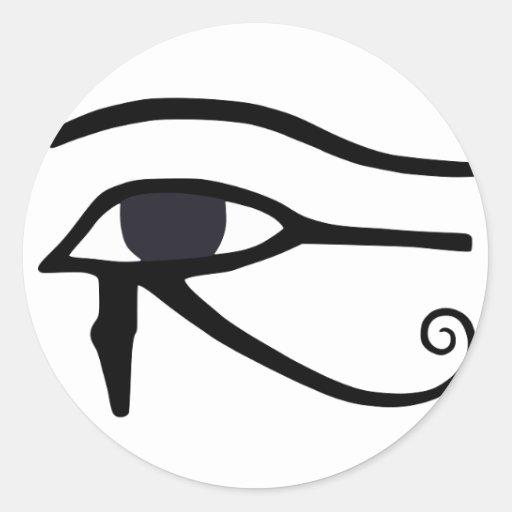 EGYPTIAN EYE OF HORUS STICKER