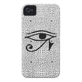 Egyptian Eye & Pattern Blackberry Bold 9700/9780 iPhone 4 Cases
