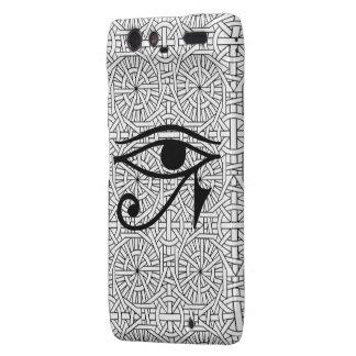 Egyptian Eye & Pattern Motorola Droid RAZR Droid RAZR Case