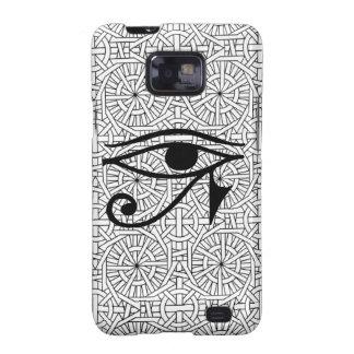 Egyptian Eye & Pattern Samsung Galaxy S2 Samsung Galaxy SII Cases