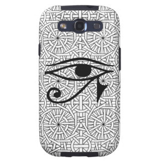 Egyptian Eye & Pattern Samsung Galaxy S3 Vibe Galaxy SIII Covers