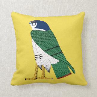 Egyptian Falcon Accent Pillow