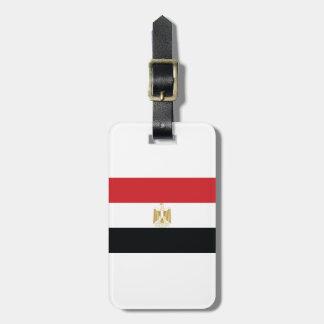EGYPTIAN FLAG LUGGAGE TAG