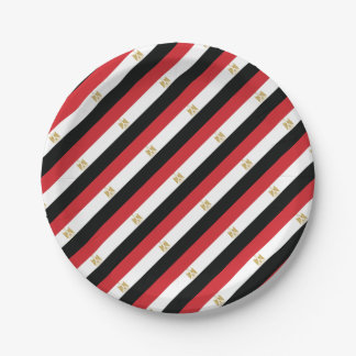 EGYPTIAN FLAG PAPER PLATE