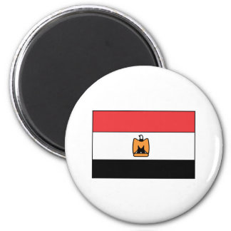 Egyptian Flag T-shirts and Gifts 6 Cm Round Magnet
