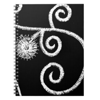 Egyptian Floral Design Notebooks