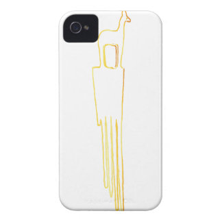 Egyptian Gazelle Comb iPhone 4 Cover