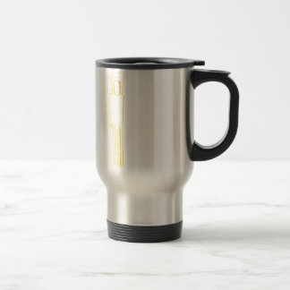 Egyptian Gazelle Comb Travel Mug