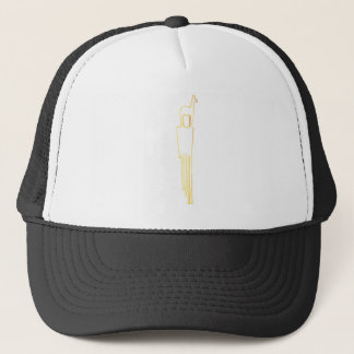 Egyptian Gazelle Comb Trucker Hat