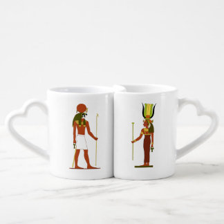 Egyptian God And Goddess Coffee Mug Set