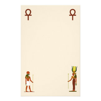 Egyptian God And Goddess Stationery