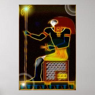 Egyptian God Horus Print