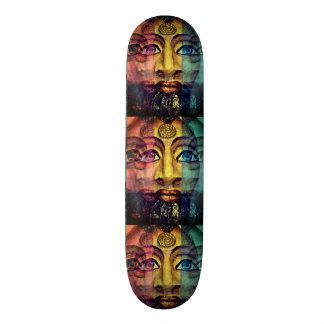 Egyptian goddess beautiful painting 20 cm skateboard deck