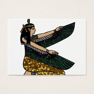 egyptian goddess business card