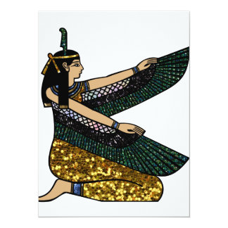 egyptian goddess card
