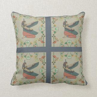 Egyptian goddess cushion