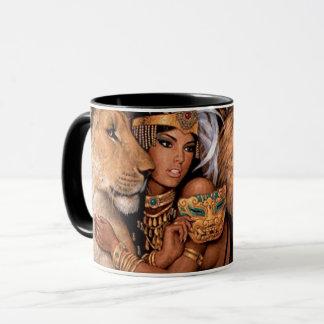 Egyptian Goddess Exotic Princess Mug