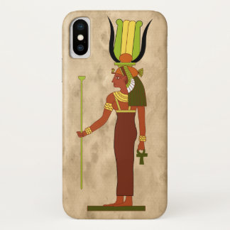 Egyptian Goddess Isis iPhone X Case