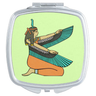 Egyptian Goddess Square Mirror Vanity Mirror