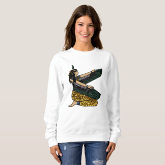 egyptian goddess womens sweatshirt