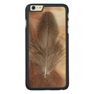 Egyptian Goose Feather Still Life Carved Maple iPhone 6 Plus Case
