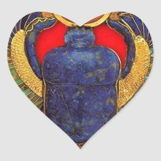 Egyptian Heart Sticker