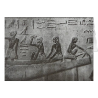 Egyptian Hieroglyphics Card
