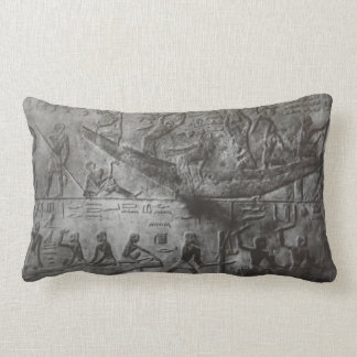 Egyptian Hieroglyphics Lumbar Cushion
