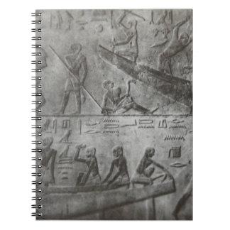 Egyptian Hieroglyphics Notebook